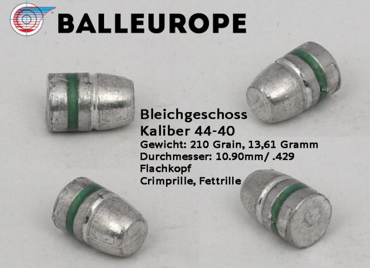 .44-40 WIN : 210 Grain 500 Blei Geschosse .44-40 WCF 13.61 Gramm 10,90mm .429 44-40 Unterhebel FK Balleurope Crimp