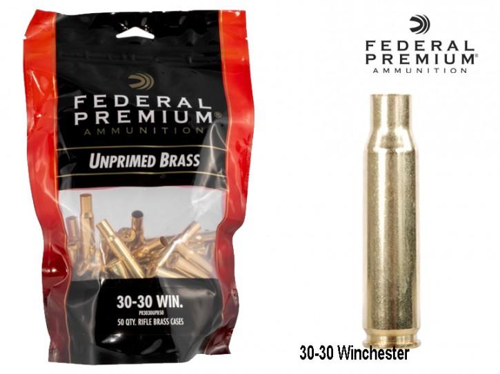 Federal Premium : 50 Stück 30-30 Hülsen, unprimed
