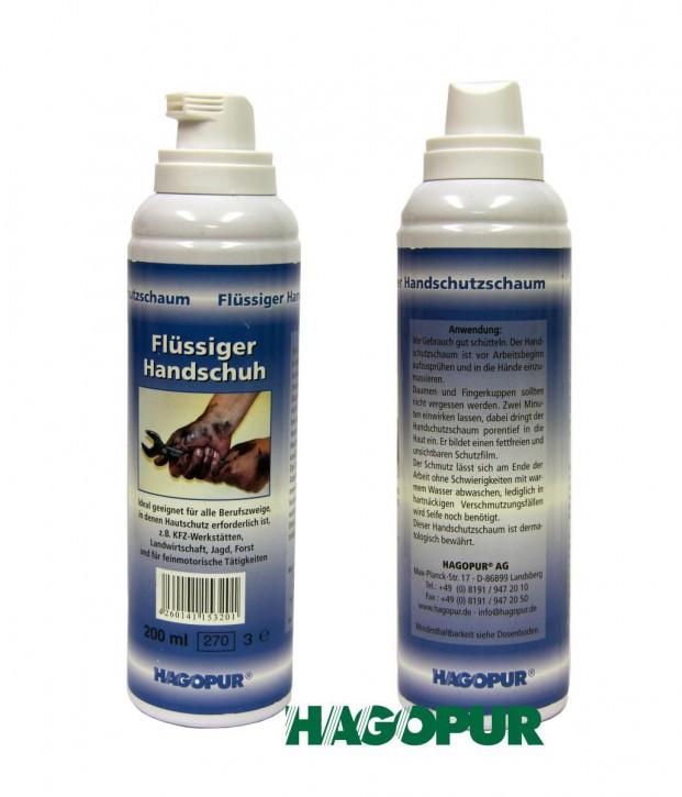 Flüssig Handschuh 200 ml idealer Schutz vor Öl Schmutz Lack Klebstoffe Harz Blut Schweiß Ruß Zement Farbe Chemie