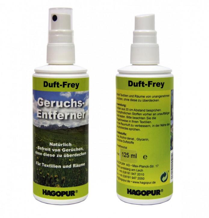 Hagopur Geruchs Entferner Duft Frei Duft-Frey 125 ml vernichtet & beseitigt schlechte Gerüche.