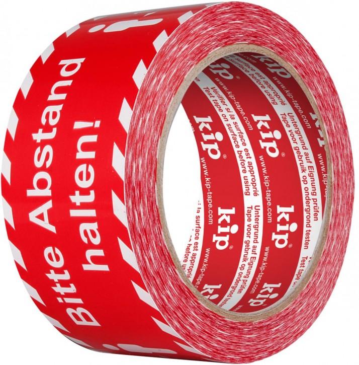 """339 Kip PVC-Warnband """"Abstand Halten"""""""