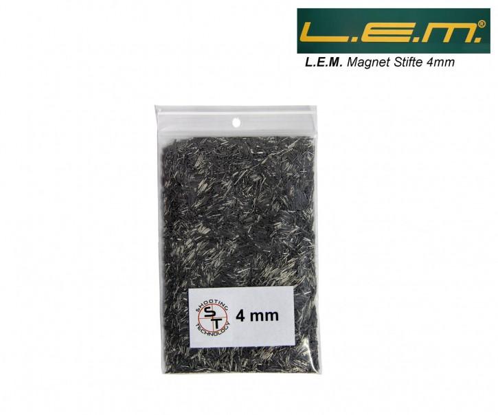 1 Pack LEM Stahlstifte 4mm für L.E.M. Hülsen Reiniger ca 150gr kleine Stifte für enge Hülsen 4 mm