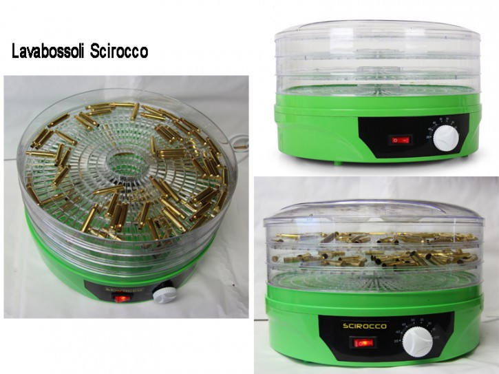 Hülsentrockner 3 Etagen baugleich Lavabossoli L.E.M. Scirocco 270 Watt stufenlos bis 70°C Trockner