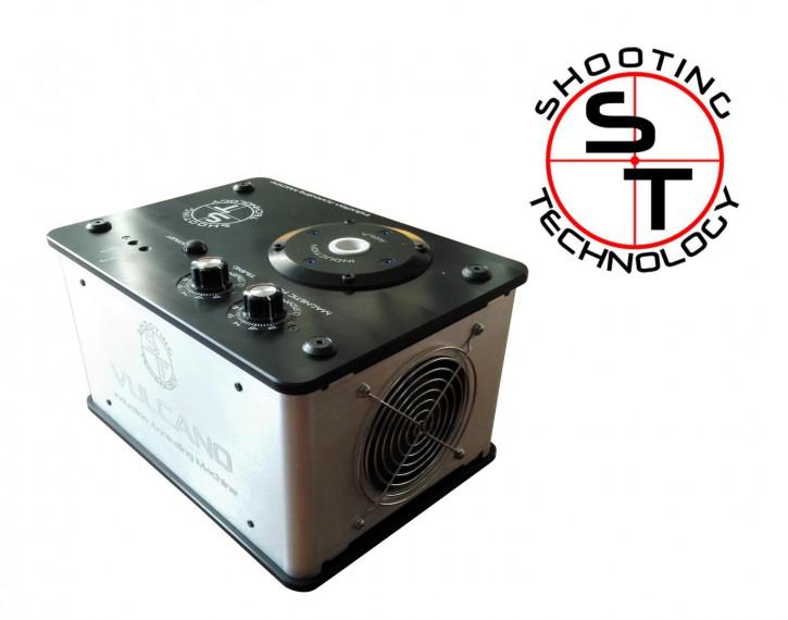 Shooting Technology: Vulcano Induction Annealing  Maschine zur Waärmebehandlung von Flaschenhalshülsen, Kaliber .308 - weitere Kaliber erhältlich