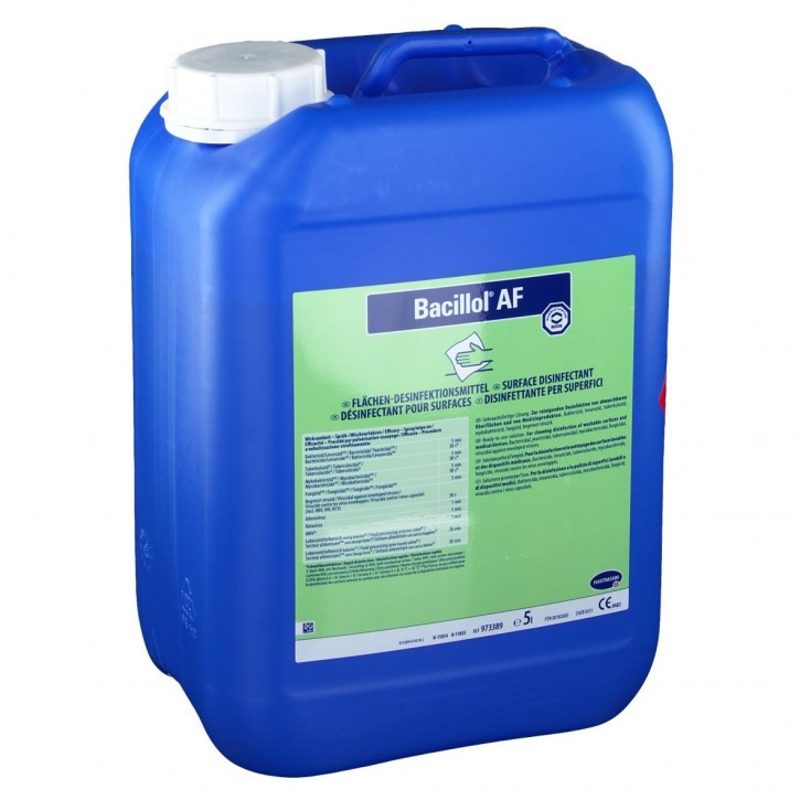 Bacillol AF Schnelldesinfektion - 973389 Gebinde: 5 Liter von Hartmann - Bode Chemie