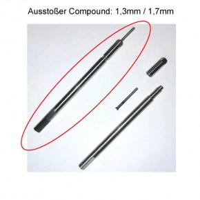 ADM Compound-Ausstoßer mit wechselbarer Spitze: 1,3mm Nontox
