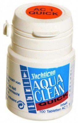 Yachticon AC1 quick mit Chlor- 100 Tabletten für 100 Liter Trinkwasser