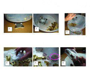 1 Pack LEM Stahlstifte 3mm für L.E.M. Hülsen Reiniger ca 150gr kleine Stifte für enge Hülsen 3 mm