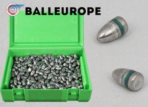 500 Stück 9mm Luger Match Geschosse FCP RN 124 Grain Vollmantel, Crimprille von  Balleurope