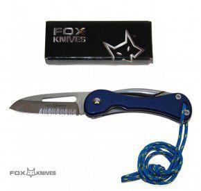 Fox Knives Segelmesser Messer FX-074 Klinge 440C Stahl, Marlspieker Linerlock Bordmesser