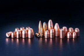 357: 500 Stück Geschosse, Kegelstumpf, 158 Grain 10,24 Gramm .357 Magnum .38 Special FCP TC von CamPro Revolver Kaliber mit Crimprille, K11