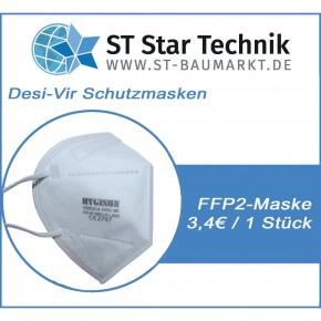 Desi-Vir Schutzmasken: FFP2 Mund-Nasen Maske für den persönlichen Schutz, 1 Maske