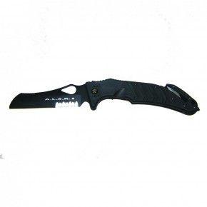 Fox Knives Rettungs- und Notfallkappmesser FKMD A.L.S.R. 2 Schwarz, Bo-Fox-01-FX-477-SFB