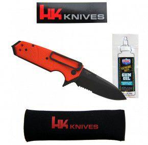 Hogue Rettungsmesser von Heckler & Koch 01HG117-KARMA-orange