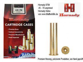 Hornady: 50 Hülsen für Kaliber .45-70, unprimed
