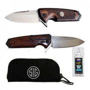 Messer von SIG Sauer gefertigt von Hogue mit Linerlock