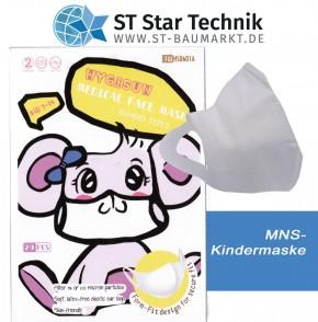 20 Schutzmaske Desi-Vir Kindergröße – Mund-Nasen-Schutz Maske für Kinder - Girl