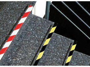339-54 Kip Warnband PVC Band Duck tape schwarz gelb