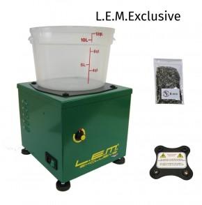 L.E.M. Exclusive Elektromagnetische Hülsenreiniger L.E.M. Lavabossoli Reinigung LEM + Magnet + Nadeln 2900 UpM 2,2kg, Programmautomatik