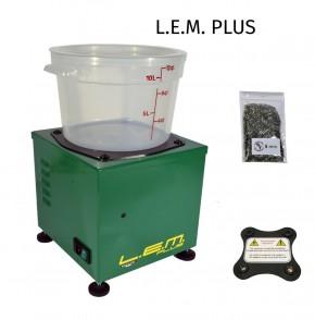 LEM PLUS Elektromagnetische Hülsenreiniger Lavabossoli Reinigung LEM + Magnet + Nadeln 1400UpM 1,8kg