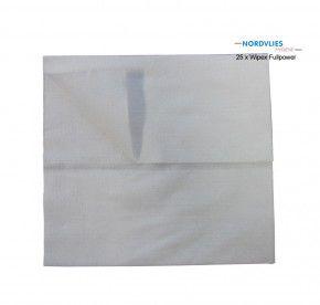25 x WIPEX FULLPOWER Wischtuch aus polyesterverstärktem Zellstoff