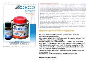 Adeco Adegrip 2-Komponenten-Kleber für Schlauchboote aus PVC 135g